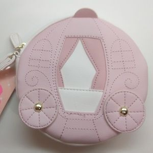 Betsey Johnson New Pink and White Coach Wristlet